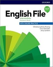 تصویر  English File Intermediate SB WB CD 4th