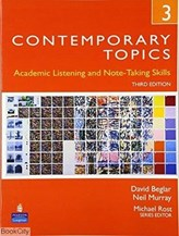 تصویر  Contemporary Topics 3 CD