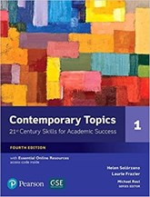 تصویر  Contemporary Topics 1 CD