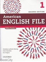تصویر  American English File 1 SB WB CD (ويرايش جديد)