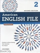 تصویر  American English File 2 SB WB CD (ويرايش جديد)