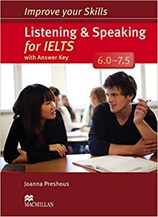 تصویر  Improve Your Skills Listening & Speaking for IELTS With Answer Key 6.0 - 7.5 CD