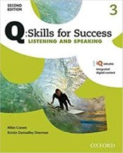 تصویر  Q Skills For Success 3 Listening and Speaking CD